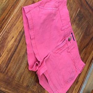 American Eagle red shorties